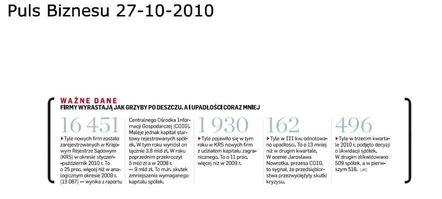 coig raport 2010