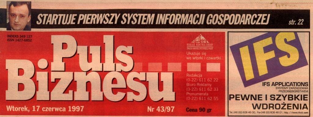 pierwszy polski system informacji