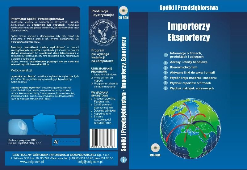 baza danych eksporterzy