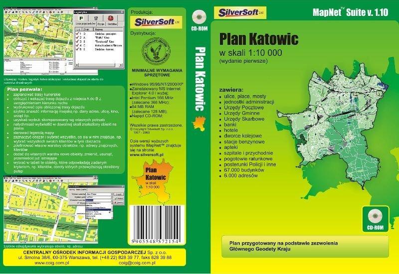 plan Katowic
