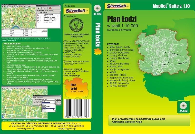 plan Łodzi
