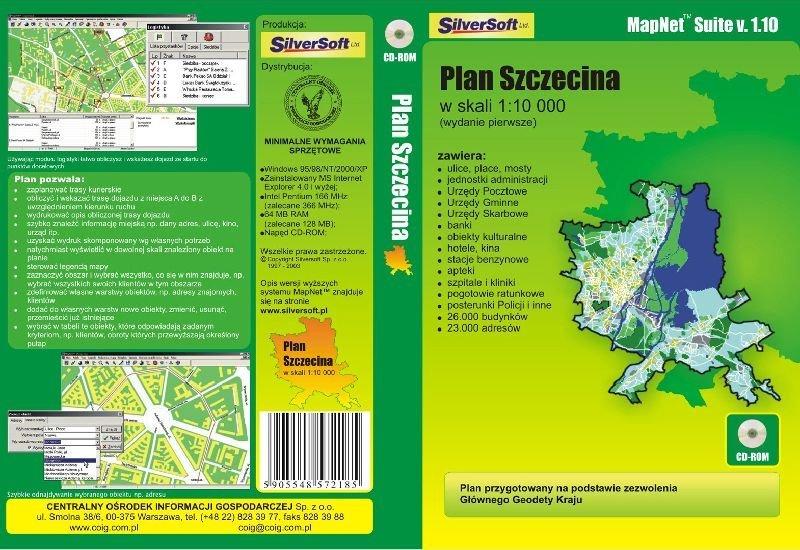 plan Szczecina