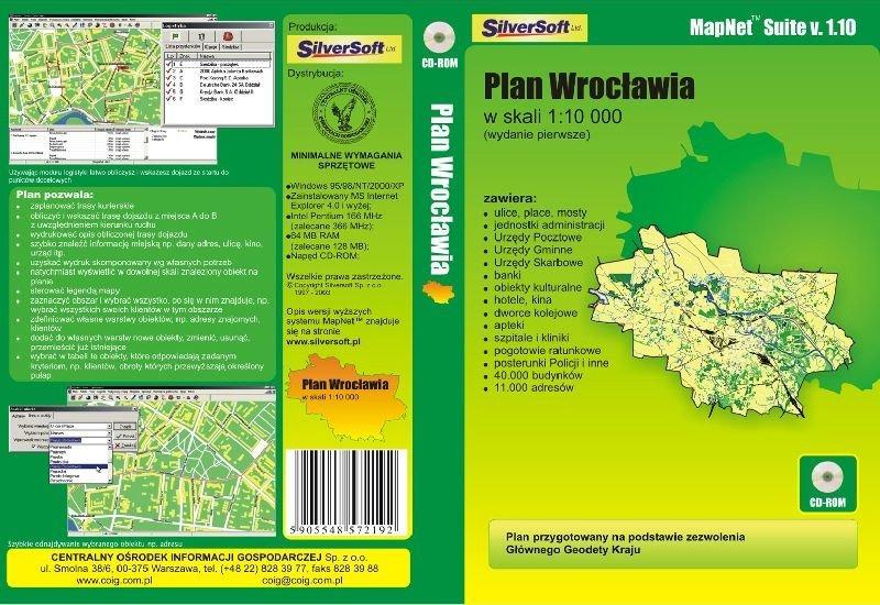 Plan Wrocławia
